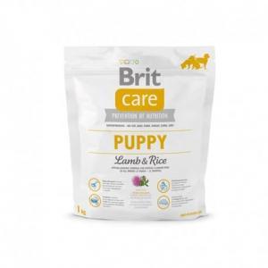 Сухой корм Brit Care для щенков всех пород, ягненок с рисом (1 кг)