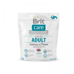 Сухой корм Brit Care для собак всех пород, лосось с картофелем (1 кг)