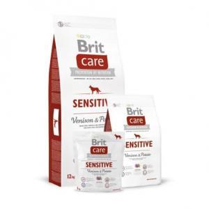 Сухой корм Brit Care для собак с чувствительным пищеварением, оленина с картофелем (3 кг)