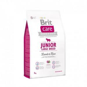 Сухой корм Brit Care для щенков крупных пород, ягненок с рисом (3 кг)