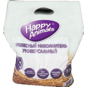 Древесный наполнитель Happy animals 4,6 кг (10 л)