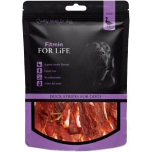 Лакомства для собак Fitmin For Life с утиными полосками (0,07 кг)