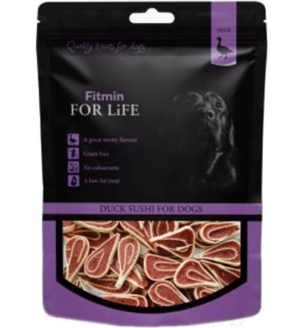 Лакомства для собак Fitmin For Life с утиными суши (0,07 кг)