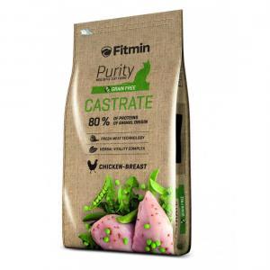 Беззерновой корм Fitmin Cat Purity Castrate для кастрированных кошек и котов (0,4 кг)