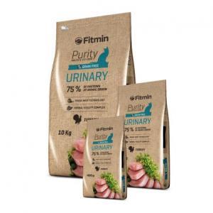 Беззерновой корм Fitmin Cat Purity Urinary для взрослых кошек для поддержания функции мочевой системы (0,4 кг)