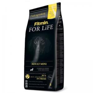 Сухой корм Fitmin For Life ADULT MINI для взрослых собак мелких пород (3 кг)