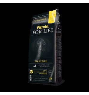Сухой корм Fitmin For Life ADULT MINI для взрослых собак мелких пород (15 кг)
