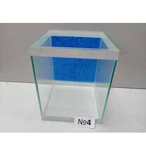 Аквариум с фоном  кубик, 20 л