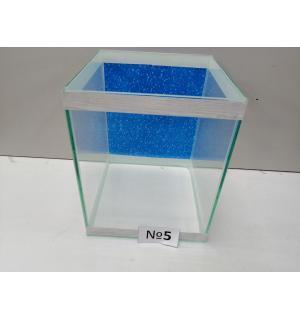 Аквариум с фоном  кубик, 31 л