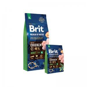 Сухой корм Brit by Nature для взрослых собак гигантских пород (15 кг)