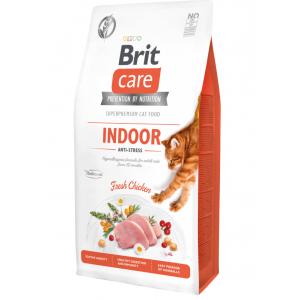 Сухой корм Brit Care для кошек, живущих в квартире (2 кг)