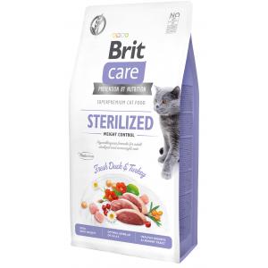 Сухой корм Brit Care для кошек, склонных к излишнему весу (2 кг)