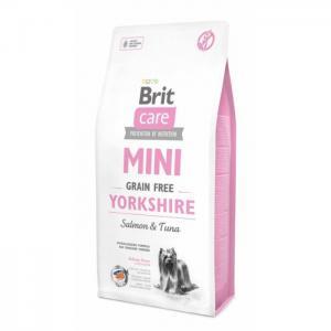Беззерновой корм Brit Care MINI GF для йоркширских терьеров (400 г)