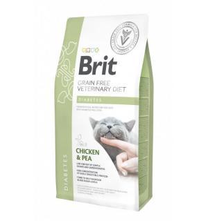 Brit VDC Diabetes беззерновая диета при диабете для кошек (400 г)