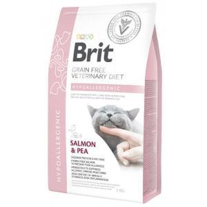 Brit VDC Hypoallergenic Salmon&Pea, беззерновая диета для кошек (5 кг)