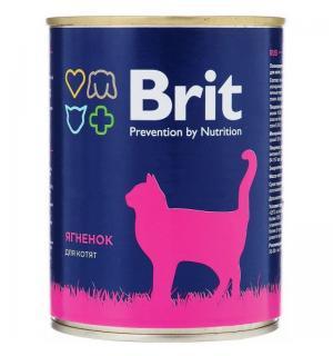 Консервы Brit для котят, ягненок (0,34 кг)