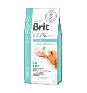 Brit VDC Struvite Chicken&Pea, беззерновая диета при струвитном типе МКБ для кошек (400 г)