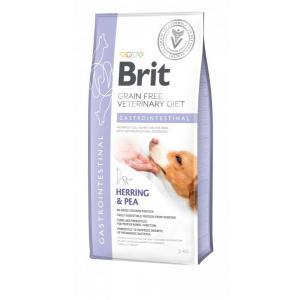 Сухой корм Brit VDD Gastrointestinal Herring&Pea беззерновая диета для собак при острых и хронических гастроэнтеритах (2 кг)