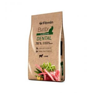 Беззерновой корм Fitmin Cat Purity Dental для взрослых кошек, способствующих здоровью полости рта (1,5 кг)