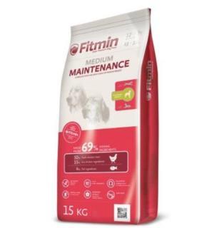 Сухой корм Fitmin Medium Maintenance для взрослых собак средних пород, курица (15 кг)