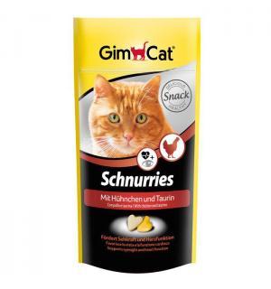 Витамины GIMCAT для кошек, сердечки с таурином и курицей (0,42 кг)