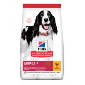 Сухой корм Hill's Science Plan для взрослых собак мелких и средних пород, курица (3 кг)