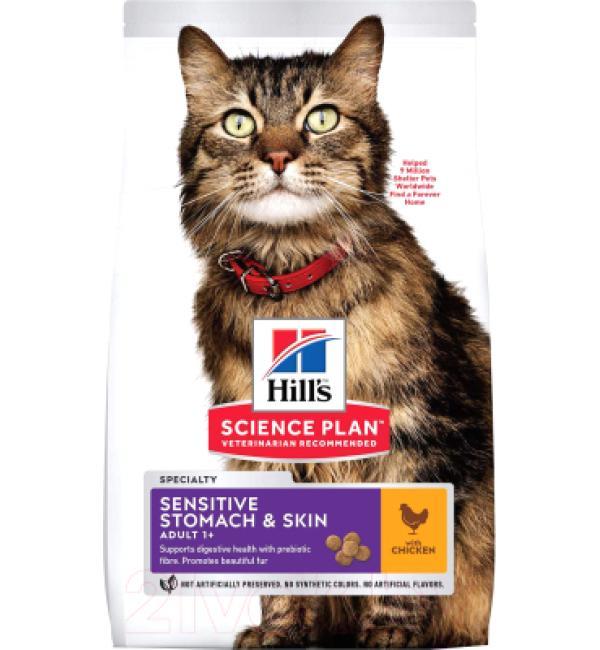 Сухой корм Hill's Science Plan для кошек Деликат (7 кг)
