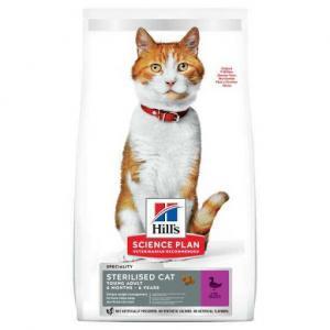 Сухой корм Hill's Science Plan для стерилизованных кошек, с уткой (0,3 кг)