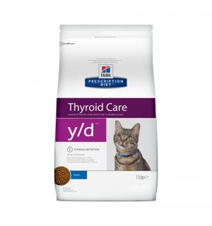 Сухой корм PD Feline y/d для кошек с заболеванием щитовидной железы (1,5 кг)