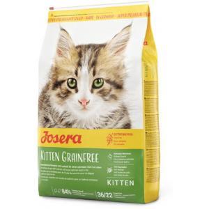 Сухой корм Josera Kitten Grainfree (Kitten 36/22) для котят до 12 месяцев и беременных кормящих кошек, с мясом птицы (10 кг)