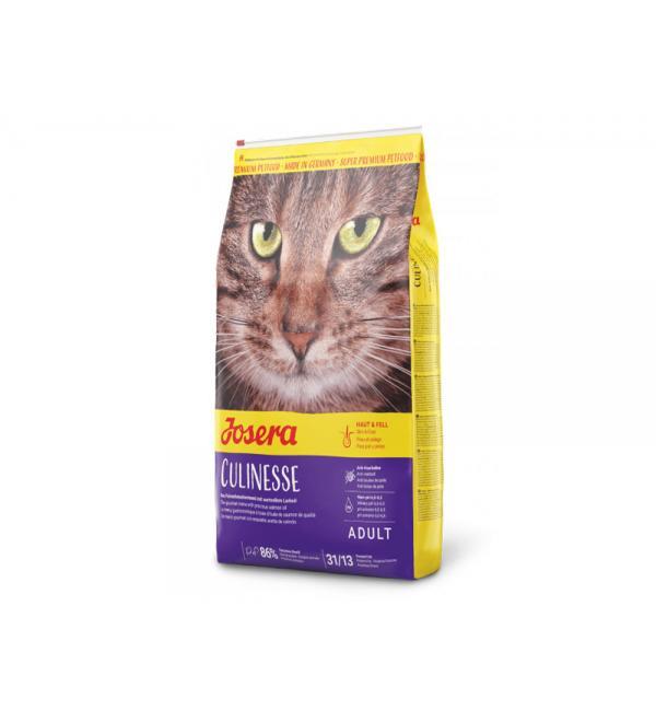 Сухой корм Josera Culinesse (Adult 31/13) для привередливых кошек живущих в помещениях (10 кг)
