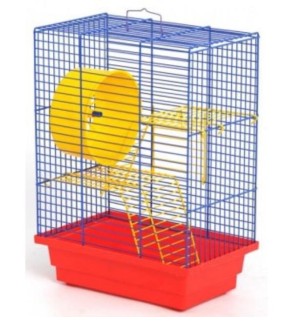 "Клетка для грызунов крашеная ""Дом"" 280х180х320"