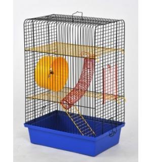 """Клетка для грызунов крашеная """"Хомяк-4"""" 330х230х480"""