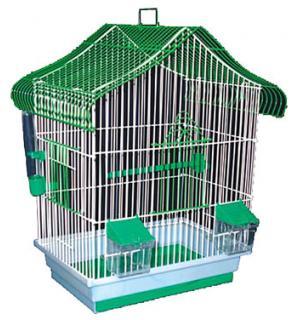 """Клетка для птиц крашеная """"Мини"""" 330х230х450"""