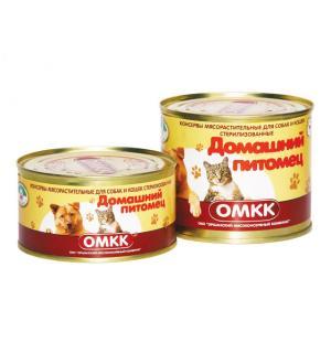Консервы для собак и кошек «Домашний питомец» (0,325 кг)
