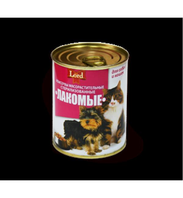 Консервы мясорастительные «Лакомые Стандарт» (0,423 кг)