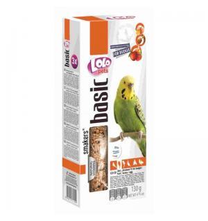 Корм Smakers® 3в1 для волнистых попугаев (фрукты, мед, яйцо) 0,13кг