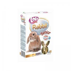 LoloPets СЕНИОР - корм для кроликов возрастом от 5 лет, 400 г