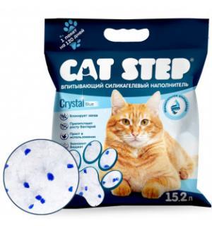Наполнитель силикагелевый Cat Step, (15,2 л)