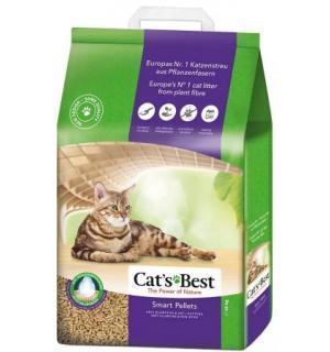 Наполнитель древесный комкующийся CATS BEST Nature Gold (10 л)