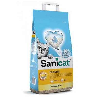 Наполнитель Sanicat Classic Professional впитывающий, 20 л