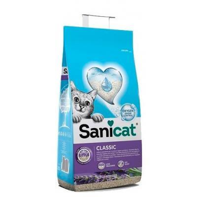 Наполнитель Sanicat Professional Super PLUS лаванда, 20 л