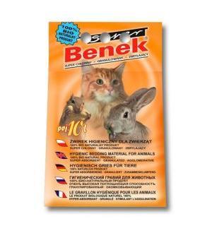 Наполнитель Super Benek комкующийся универсальный (10 л)