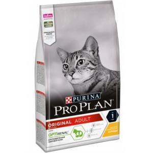 Сухой корм Pro Plan для взрослых кошек, с высоким содержанием курицы (0,4 кг)