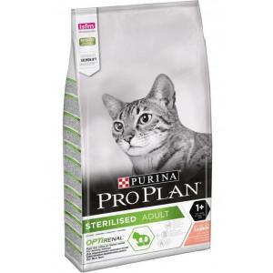 Сухой корм Pro Plan для взрослых стерилизованных кошек и кастрированных котов, с высоким содержанием лосося (0,4 кг)
