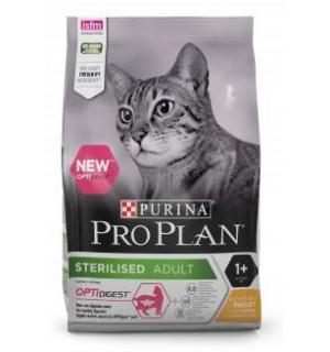 Сухой корм Pro Plan для стерилизованных кошек и кастрированных котов, с высоким содержанием лосося (0,4 кг)