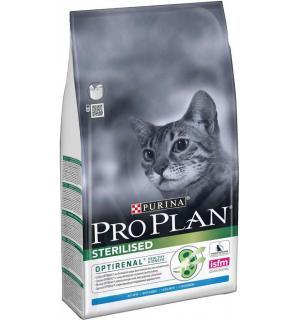 Сухой корм Pro Plan для взрослых стерилизованных кошек и кастрированных котов, с кроликом (0,4 кг)