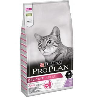 Сухой корм Pro Plan для взрослых кошек с чувствительным пищеварением или особыми предпочтениями в еде, с высоким содержанием индейки (0,4 кг)