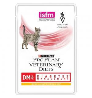 Влажный корм Pro Plan PPVD DM St/Ox. для взрослых кошек при диабете (0,085 кг)