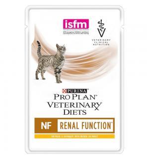Влажный корм Pro Plan PPVD NF для взрослых кошек при патологии почек, с курицей (0,085 кг)